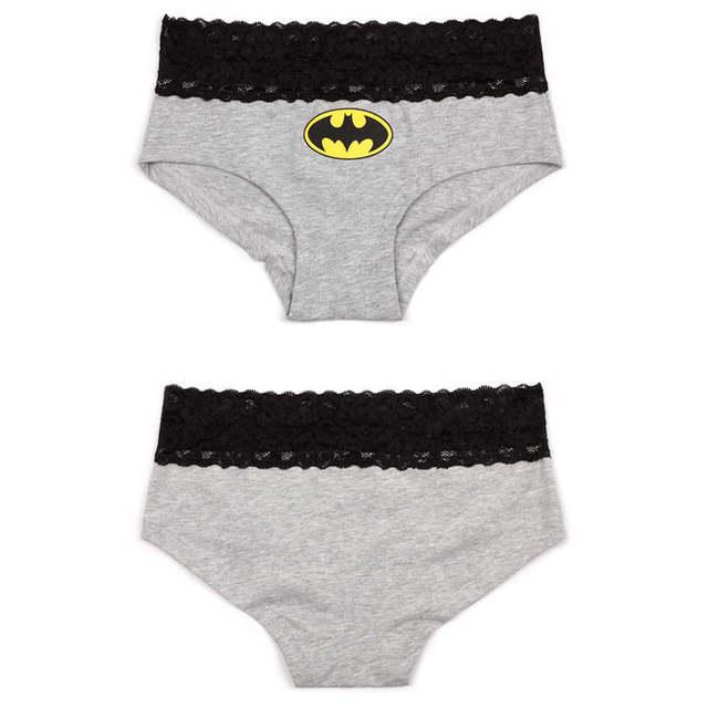 Online Shop New 2 styles Sexy Women s Lace Batman Underwear Panties Boxer Briefs  Knickers Lingerie  ab6818388