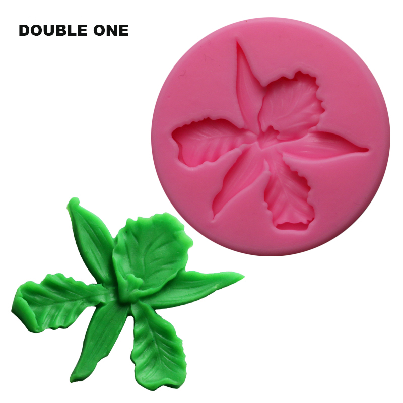 DIY Silicone Jewelry making Molds Leaf Flower Shaped for Candy Resin Clay Crafts Moulds