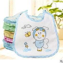 10-Pack Pudcoco детские нагрудники водостойкий слюнявчик набор, многоцветный водонепроницаемый легко чистить