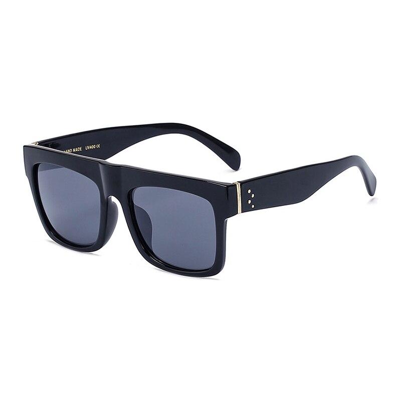 Luxus Markendesigner Kim Kardashian Fat Top Sonnenbrille Frauen Retro - Bekleidungszubehör - Foto 4