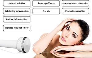 Image 5 - פרו 1Mhz 3MHz אולטרסאונד פנים מכונה אנטי הזדקנות עור הרמת סלון ספא יופי טיפוח עור מכונת עם לחסל נמשים