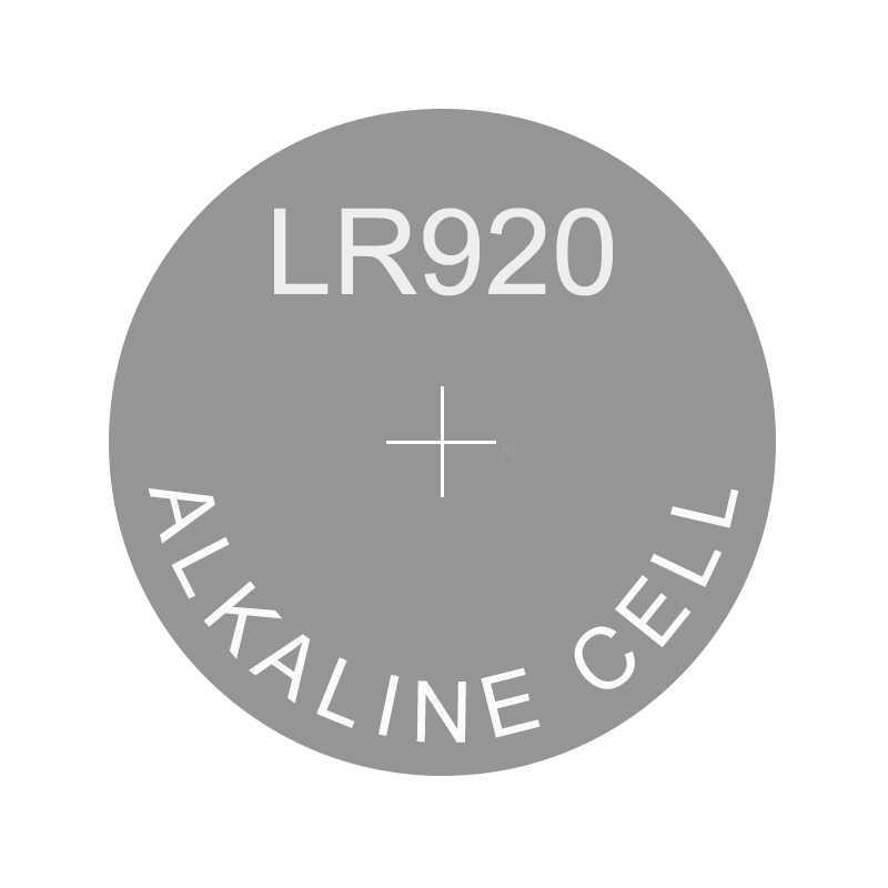 แบตเตอรี่ LR920 แทนที่ AG6 171 370 371 371A D371 LR69 LR920H LR921 LR921H RW315 SP370 SP371 SR69 SR920 SR921 SR920SW