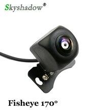 1280*720P водонепроницаемый HD 170 градусов sony Рыбий глаз объектив звездный свет ночное видение Автомобильная камера заднего вида парковочная камера