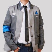 디트로이트: 인간의 코스프레가 되십시오 connor markus kara jacket for women connor detroit 인간의 코스프레가 되십시오