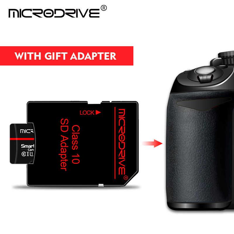 Класс 10 Черная карта памяти 4 ГБ 8 ГБ 16 ГБ 32 ГБ Micro SD-карта 64 ГБ Tarjeta microsd 32 ГБ Мини-флешка TF карта с бесплатным адаптером
