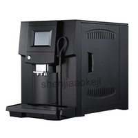 Touch Commerical полностью автоматическая кофемашина ЖК кофе эспрессо машины и кофемолка 19 бар капучино maker 220 В 1250 вт