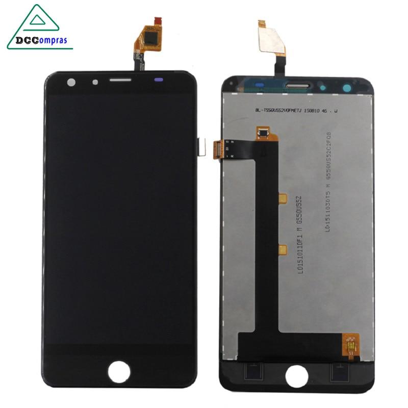 100% D'origine Qualité Pour Ulefone être tactile 3 Écran lcd + Écran Tactile Digitizer Assemblée Remplacement Accessoires Outils Gratuits