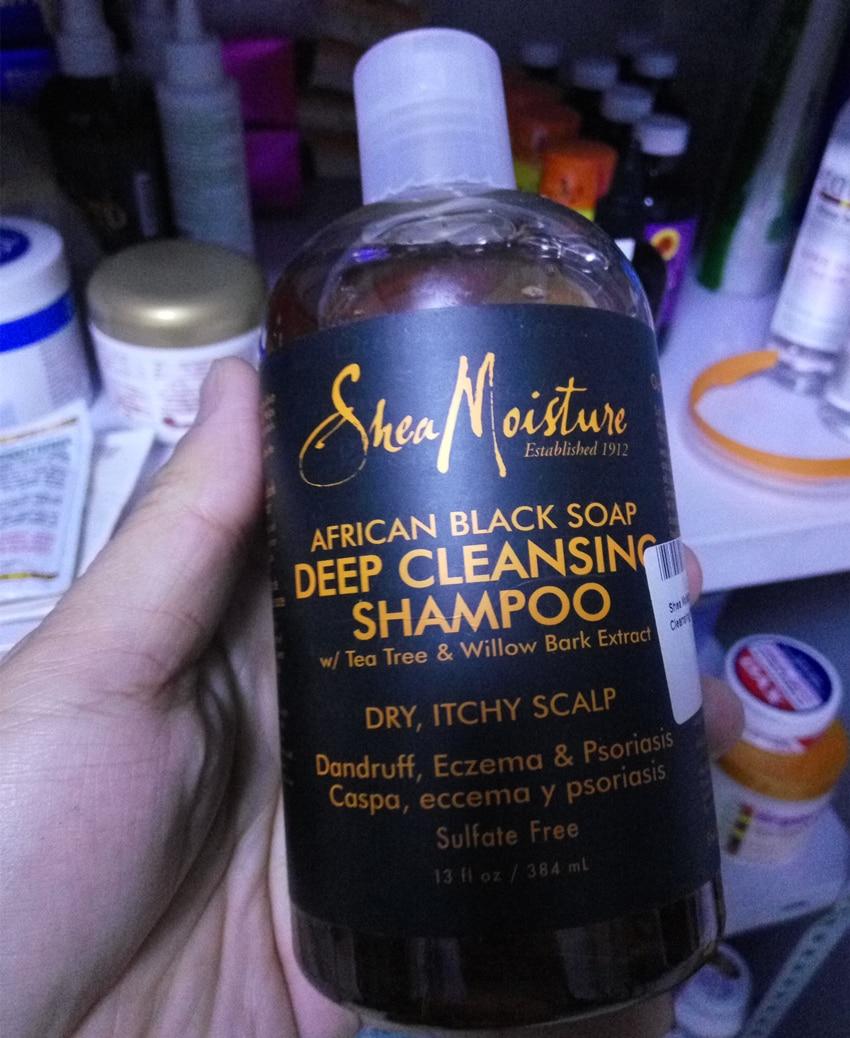 Shea moisture africano nero sapone pulizia profonda shampoo/384 ml