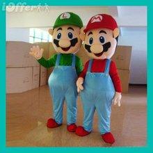 China Wholesale Accessories Super Mario Luigi Adult Size Mascot Costume Cartoon Clothes