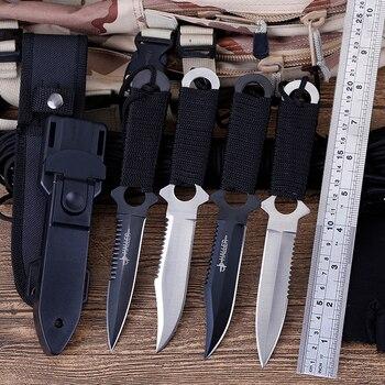 Cuchillo de Supervivencia CS cold, cuchillos de caza Faca, herramienta de diagnóstico...