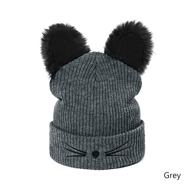 Dropwow MOLIXINYU Lovely Cat Ears Hat Beanie Children Winter Warm ... 4f47cc6df4cf