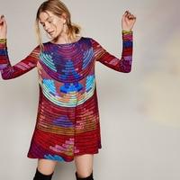 Full Casual Polyester Regular Striped Limited Special Offer Vestidos De Fiesta Office Dress Plus Size Charm Women Dress