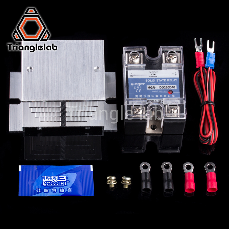 3D Printer Heated Bed Power Module High Current SSR KIT MOSFET upgrade  RAMPS 1 4 reprap free shipping