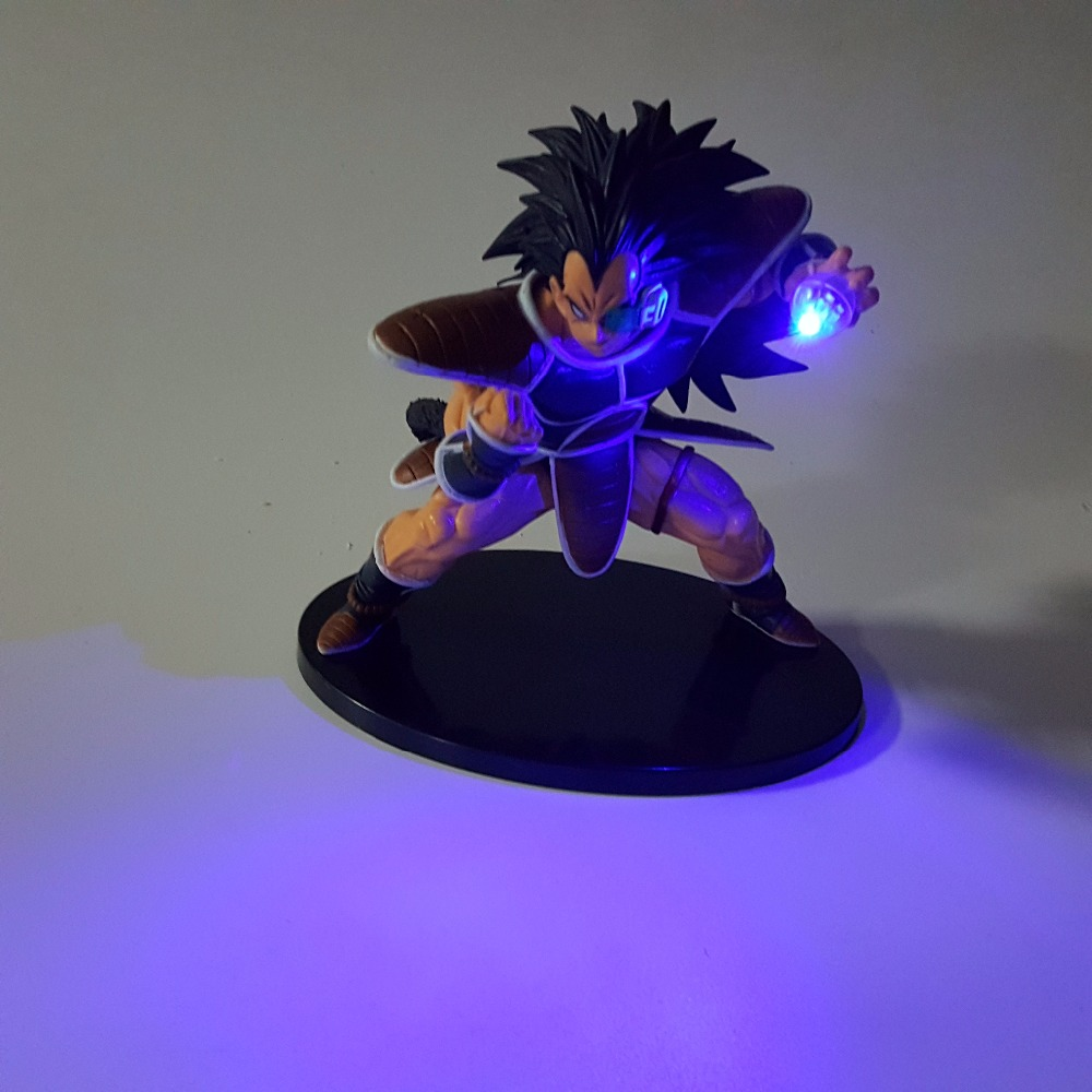 Led Night Lights Dragon Ball Raditz Diy Led Lighting Lamp Super Saiyan Raditz Kamehameha Led Lamp 150mm Anime Dragon Ball Action Figures Toy Dbz