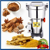1500g Spice grinder High frequency grinder Herb/grain/rice powder grinding machine Swing Salt mill