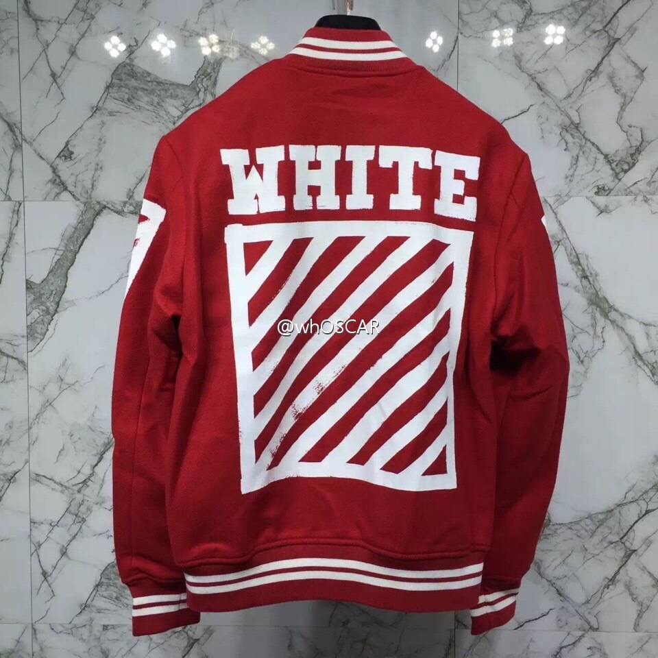 c89584f08536 Palace Justin Bieber Jacket Brand Clothing OFF WHITE Jackets Men Striped  Streetwear Coats Red Bomber Jacket Veste Homme-in Jackets from Men s  Clothing on ...