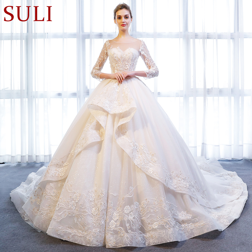 Crystal Wedding Gown: Aliexpress.com : Buy SL 172 New Arrived Crystal Long