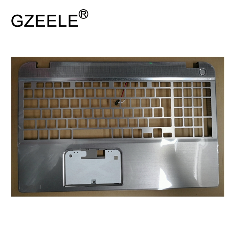 GZEELE New Laptop LCD TOP CASE For Toshiba Satellite P50 P50T-A129 Palmrest Keyboard Bezel Cover Upper Case Assembly brand new laptop for dell inspiron 15 15r 5521 5537 3537 3521 lcd back cover upper cover bezel case palmrest cover bottom case