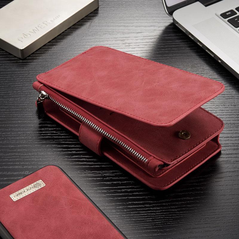 2IN1 Multi-function plånbok blixtlås fodral för Samsung Galaxy S9 - Reservdelar och tillbehör för mobiltelefoner - Foto 6