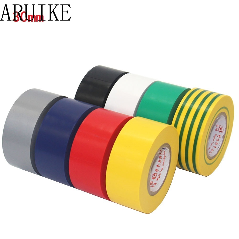 PVC Electrical Wire Insulating Tape Roll Black 20M Length 16mm Wide Black Hot S8