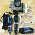 Acessórios Da Câmera de esportes Caixa Estanque para SJ4000 SJ5000 SJCAM Original WiFi 7000 Soocoo c30 H9 Com Carregador de Carro Motocicleta
