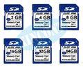 bulk packing Memory Cards 32gb class 10 SDHC Card 128MB 1/2/48GB 16GB 64GB SDXC Transflash flash Memory Cards+Free Shipping