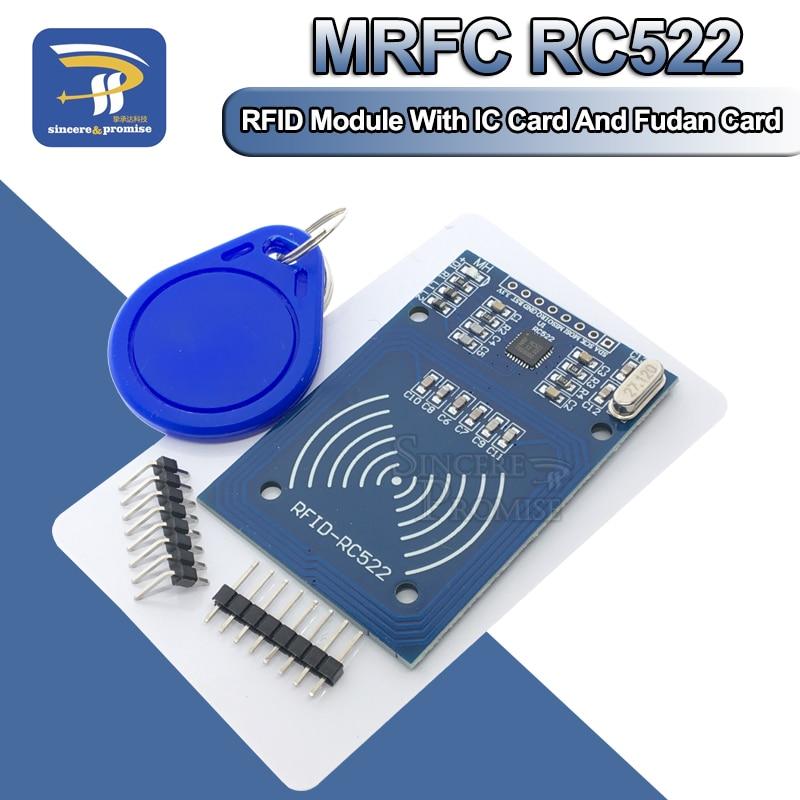 MFRC-522 RC522 13,56 МГц Антенна RFID IC беспроводной модуль для Arduino IC KEY SPI устройство для чтения записей IC карта модуль приближения