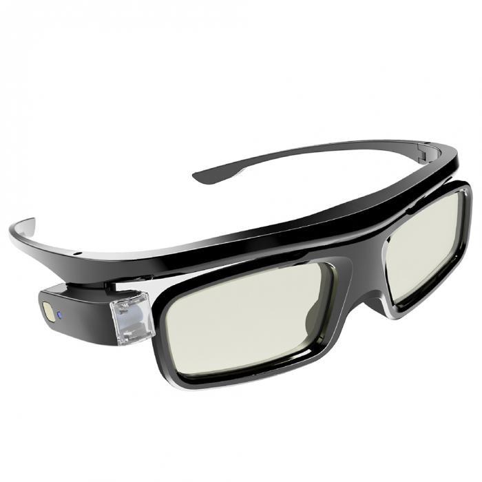 Leve ativo obturador recarregável óculos de óculos