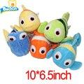 5pcs/set Hot Movie Finding Dory Plush Fish Clownfish Nemo Stuffed & Plush Animals Toys Stuffed Plush Doll Plush Toys Gift 25cm