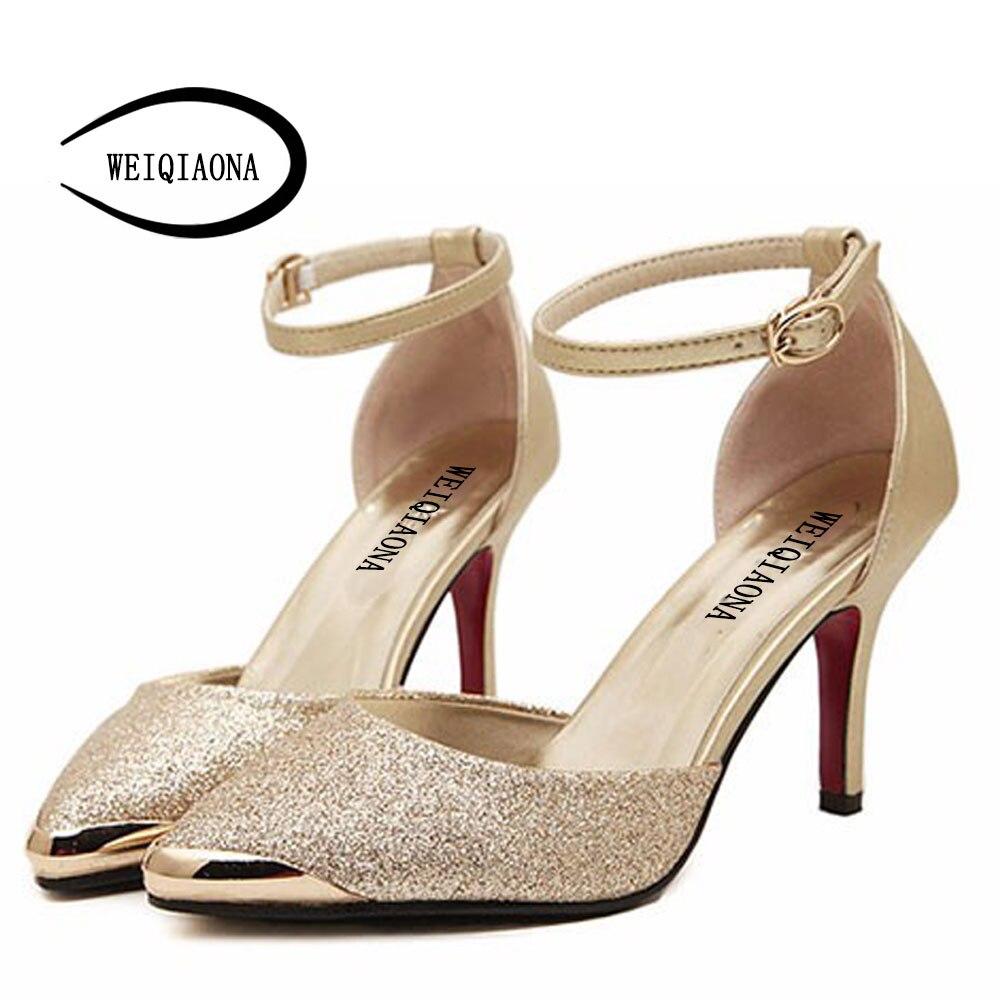 High Heels Women Pumps Glitter High Heel Shoes Woman Sexy
