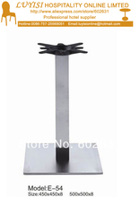 Stainless steel  table base,good for indoor and outdoor,kd packing 1pc/carton,fast delivery
