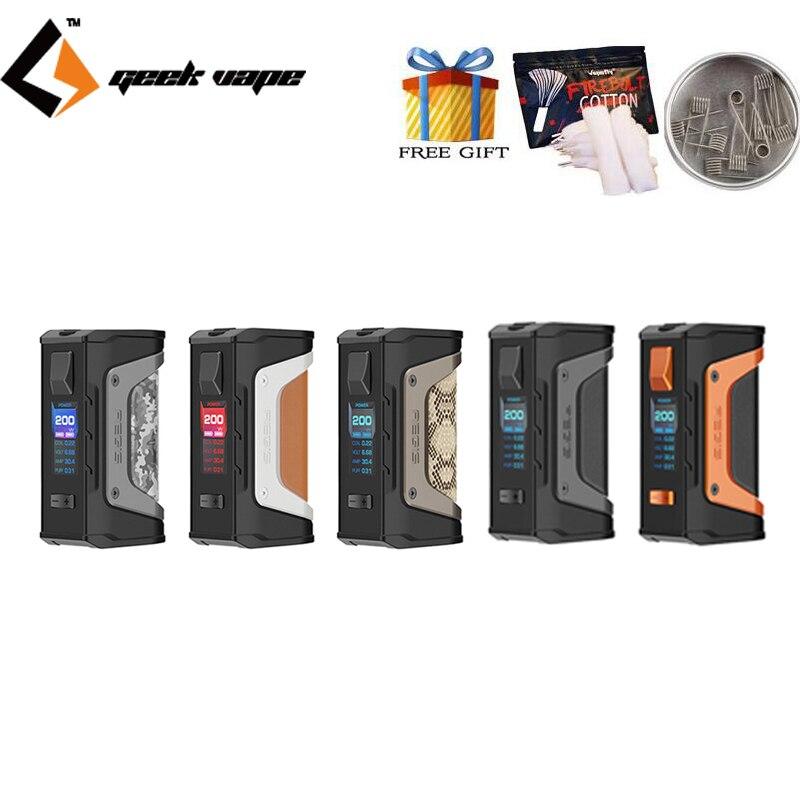 Original Electronic Cigarette Geekvape Aegis Legend 200W Box MOD Vape Support Aero Mesh sub ohm Tank