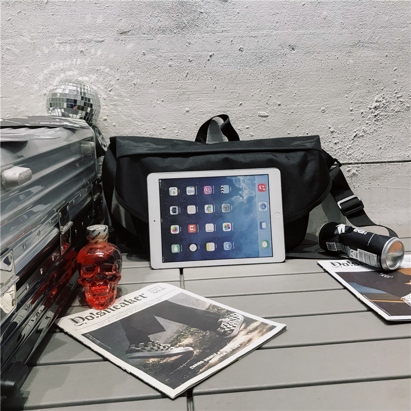 Mannen Canvas Crossbody Tassen Enkele Riem Mannelijke Schoudertassen Toevallige Reizen Handtassen Stevige Rits Schooltassen voor Tieners - 5