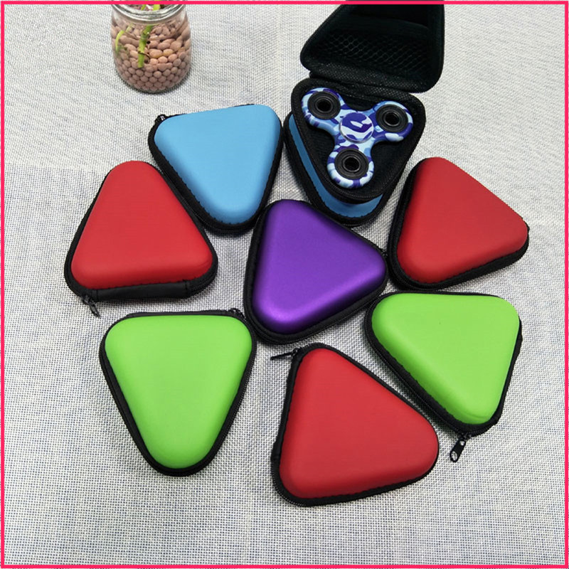 Hot Gyro Storage Box Case for Dustproof Hand Spinner EDC Fidget Spinner Focus Gyro Toy spiner organizador Funny Anti-Stress XM40 ...