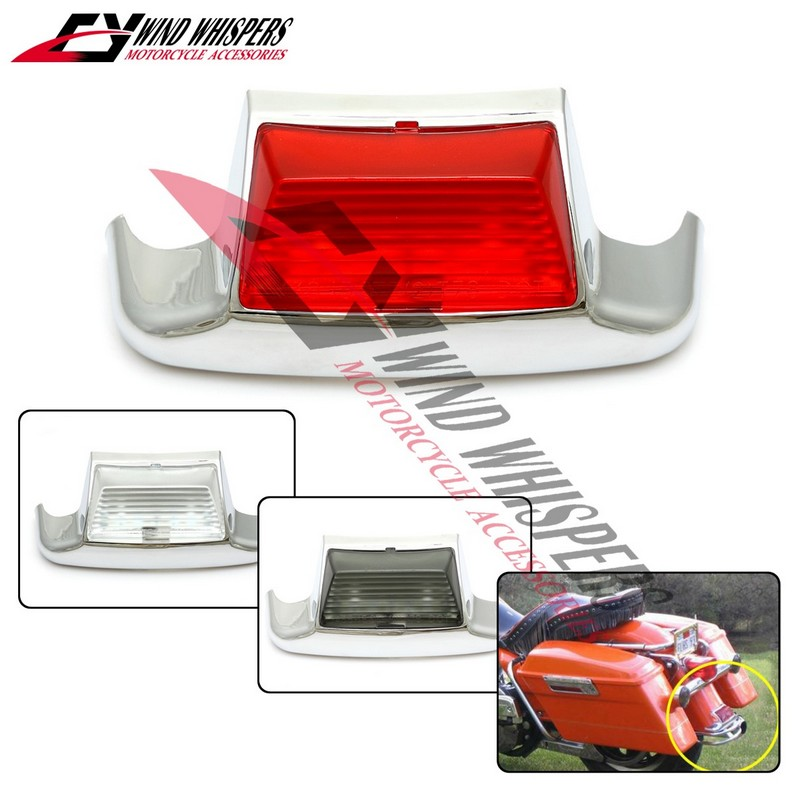 Motorcycle Rear Tail lamp Fender Light For Harley Touring Glide Road King Softail 1980-2008