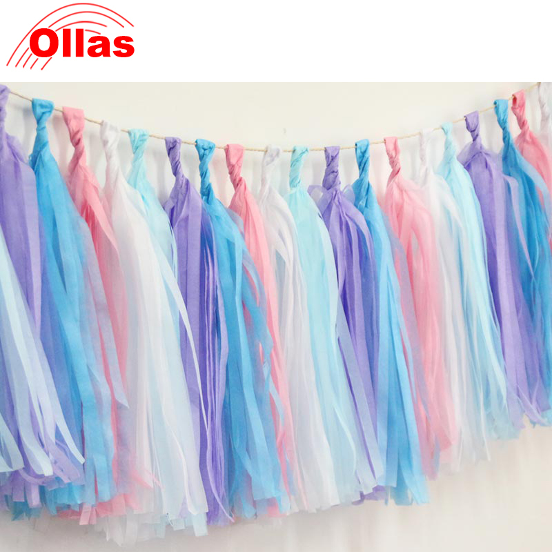 Aliexpress Com Buy Ollas Paper Tassel Festival Decoration Wedding Room Party Photo Background Decoration Kids Happy Birthday Party Supplies From Reliable