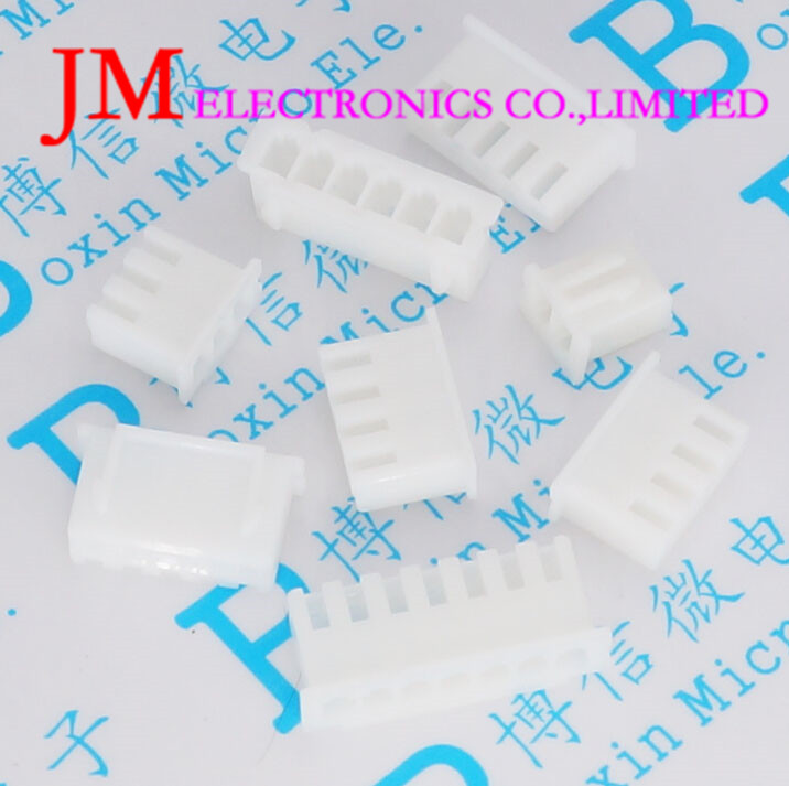100Pcs 2.54Mm Spacing series Female seat Jst Xh Connector White ROHS 2 3 4 5 6 7 8 9 10 20pcs m3 copper standoff spacer stud male to female m3 4 6mm hexagonal stud length 4 5 6 7 8 9 10 11 12mm