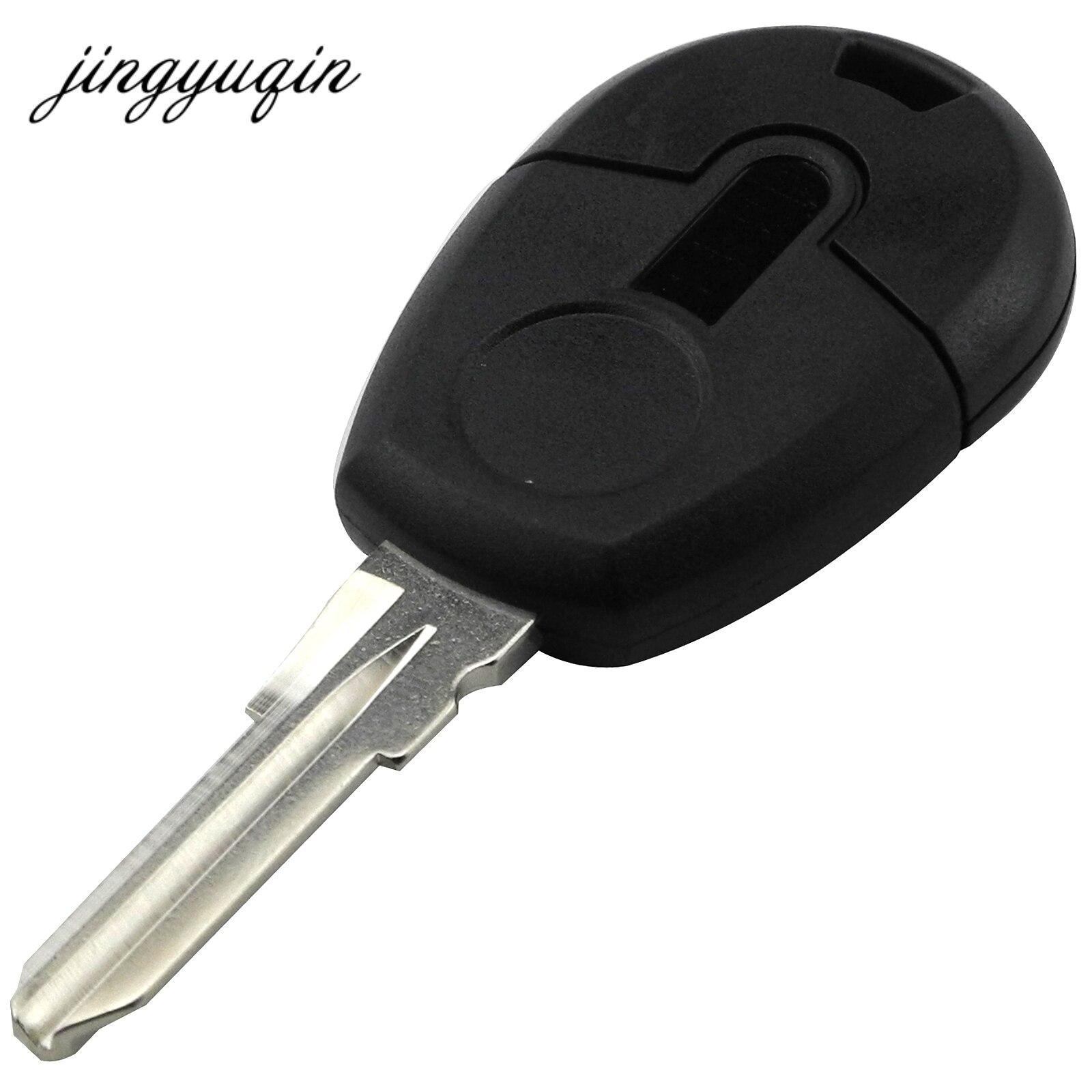 jingyuqin 15pcs lot New style Replacement Car Key Blank Case For Fiat Positron EX300 Transponder Key