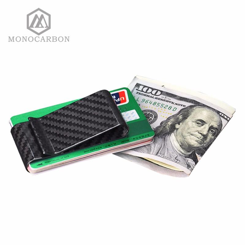 double side carbon fiber money clip (9)