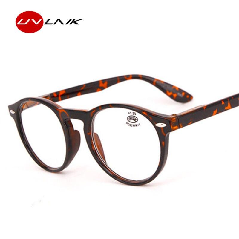 Damenbrillen Uvlaik Progressive Multifokale Lesebrille Männer Legierung Rahmen Photochrome Brillen Frauen Anti Blau Licht Brillen