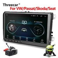 9 Android Car Multimedia player 2 Din WIFI GPS Navigation Autoradio For Volkswagen/Passat/GOLF/Skoda/Seat 2din car radio