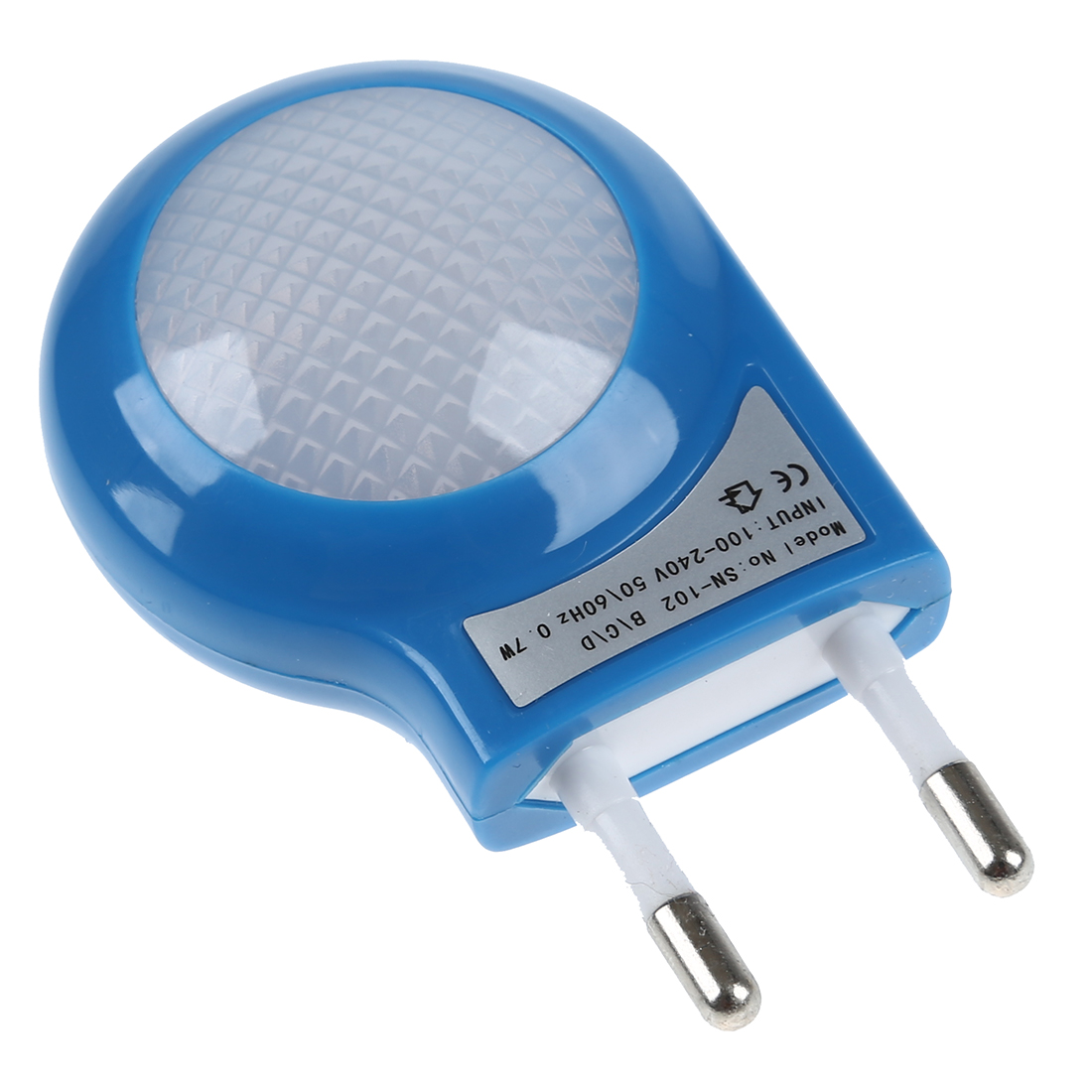 NFLC Blue LED Sensor Night Lamp with 0.7W Low Power Plug-in Night ...