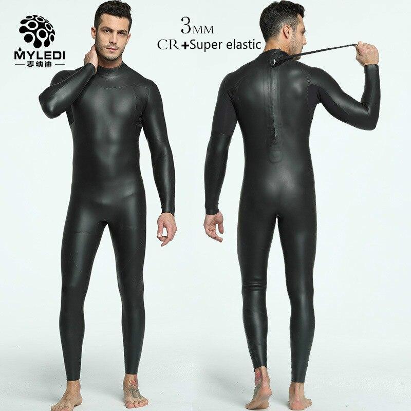 3 мм интегрированный мужской женский костюм для дайвинга CR+ Ультра Эластичный гидрокостюм для триатлона согревающие теплые кожаные черные водолазные костюмы MY086/MY129