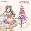 Yazawa Nico Cosplay Amor En Vivo! escuela idol proyecto despertar ascosing idolatrado arabian dancer costume con velo y accesorios