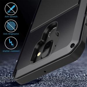Image 4 - Dành cho Nokia 8 Sirocco Ốp Lưng Chống Sốc Áo Giáp Chống Nước Kim Loại Nhôm Ốp Điện Thoại Cho Nokia 8 Sirocco Bao Kính Màn Hình bộ phim