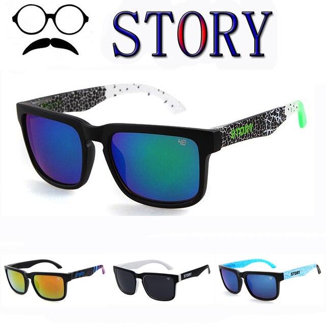 ffd6eaa7ac941 Nova KEN BLOCK Óculos Homem Marca Designer óculos de Sol UV400 Revestimento  Reflexivo Espiado Quadrado Para