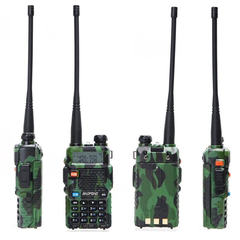 2шт Баофэн в BF-UV5R любительское радио портативной рации Pofung УФ-5R 5 Вт УКВ/УВЧ двойной Band два пути Радио УФ-5р рации