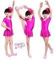 Crianças Menina Roupas De Dança Crianças Trajes de Balé Para Meninas Dança Leotard Dancewear Menina