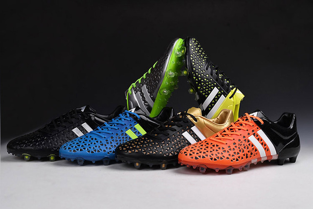 buy online ae0cf 2f50d 2015 Latest ACE15.1 FG  AG mixed cleats Football boots male natural turf  soccer shoes cleats between US6.5-11 Free shipping