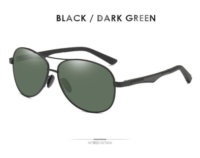 Black-Dark Green